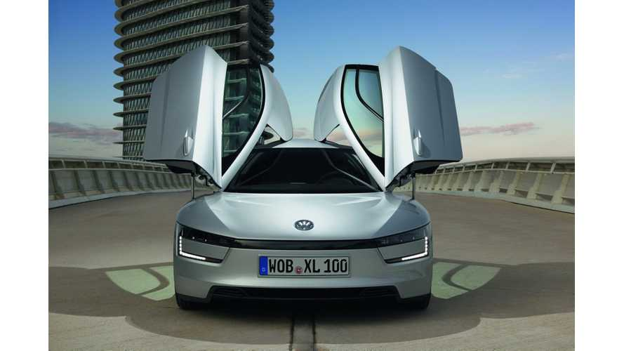 Radical Volkswagen XL1 Plug-In Hybrid Likely to be a Lease-Only Offering