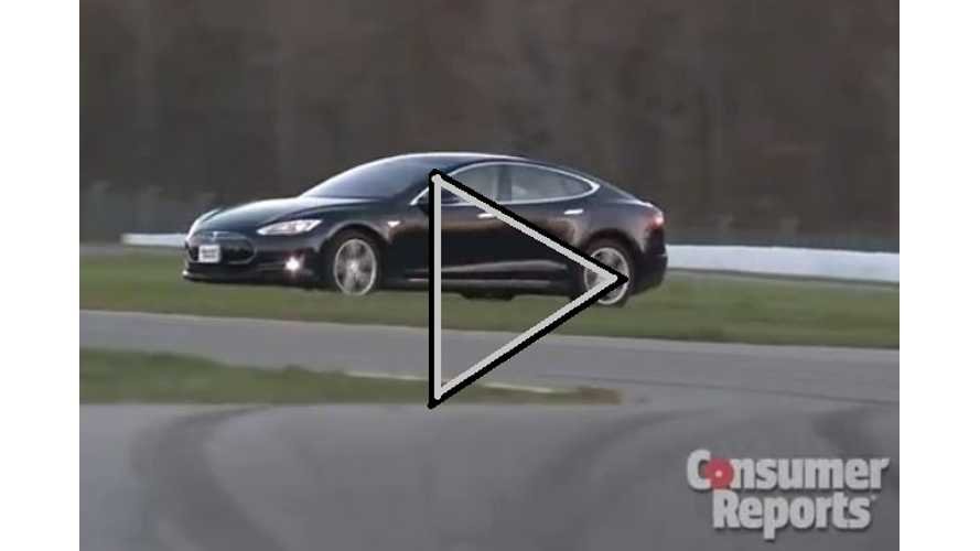 Video: Consumer Reports Describes in Detail Why the Tesla Model S Scored 99 Out of 100