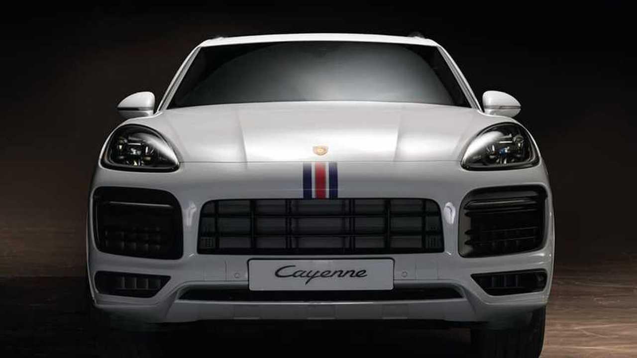 Porsche Cayenne Dakar 84
