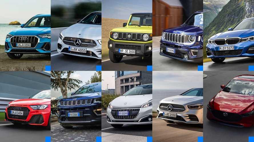 Le Auto più cliccate del 2018
