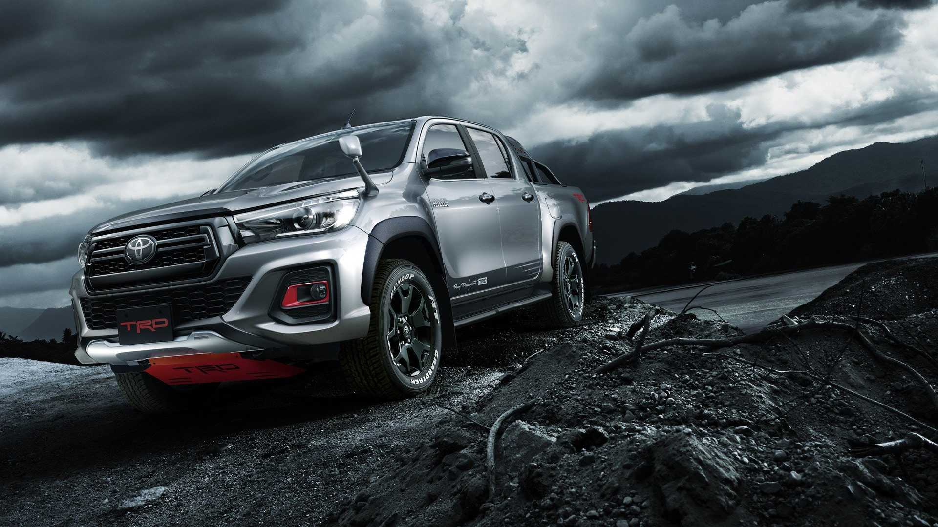Toyota Hilux Black Rally Edition For Japan Bundles Trd Goodies