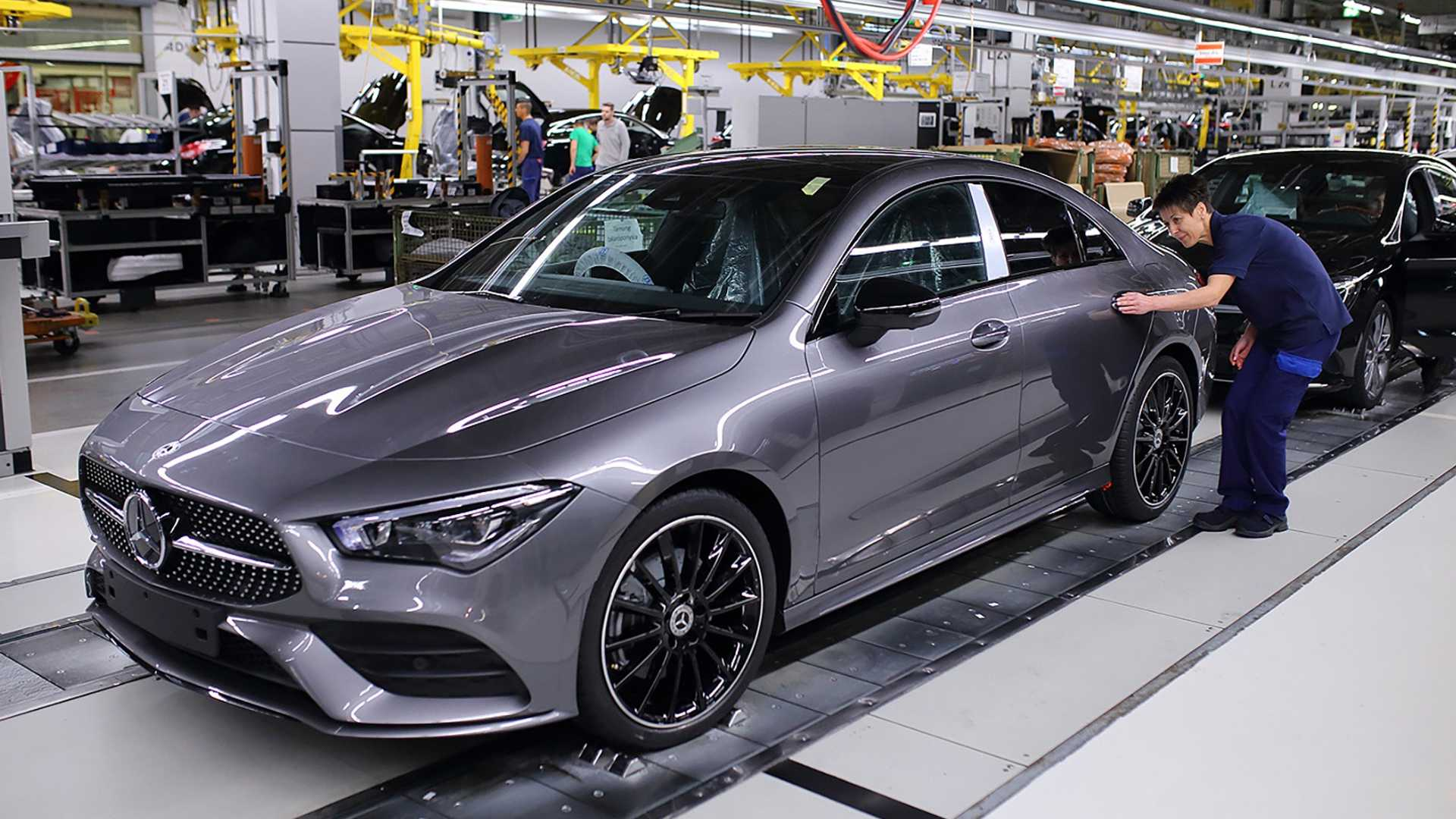 2020 Mercedes Benz Cla Class Production Starts In Hungary