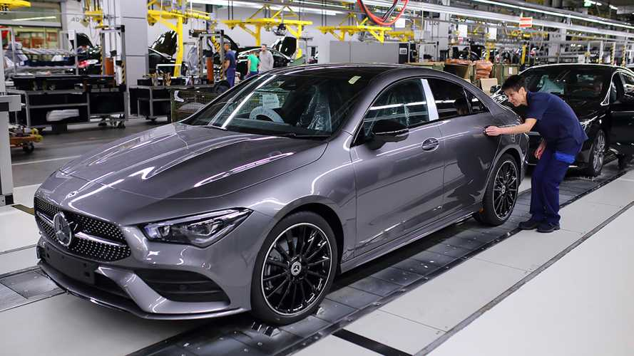 2020 Mercedes-Benz CLA-Class Production