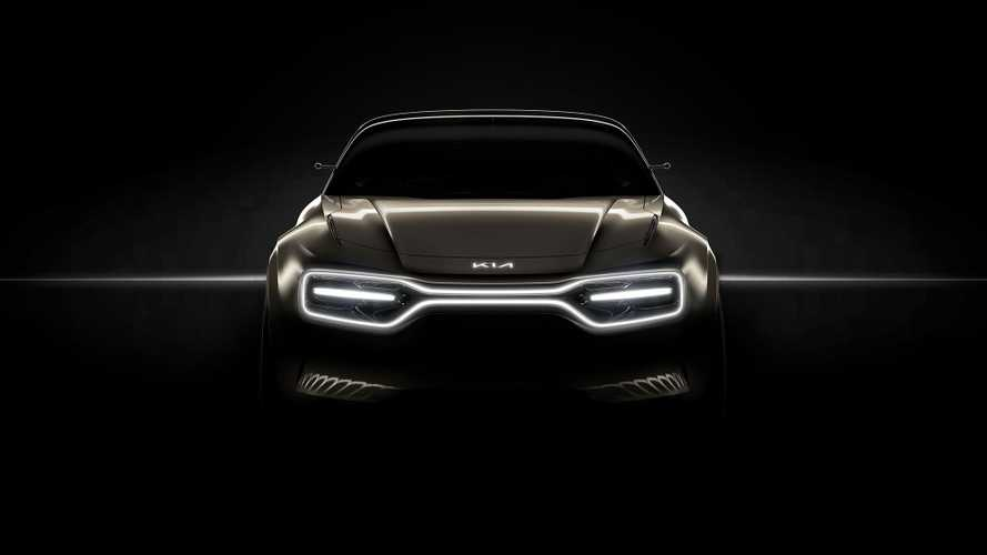 Kia Teases Sporty New Electric Car Ahead Of Geneva Reveal
