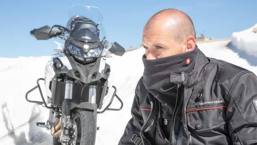 Combate el frío en moto con los accesorios Windstopper de VQuattro