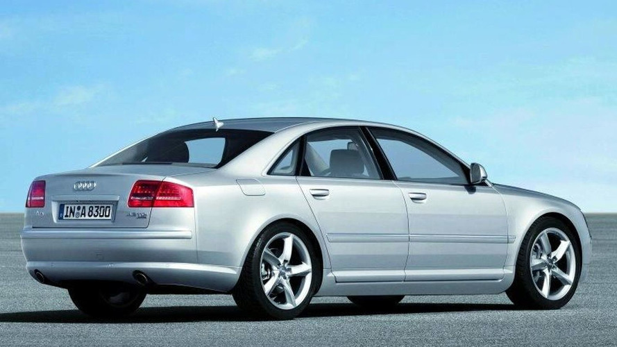 Audi A8 Facelift Revealed