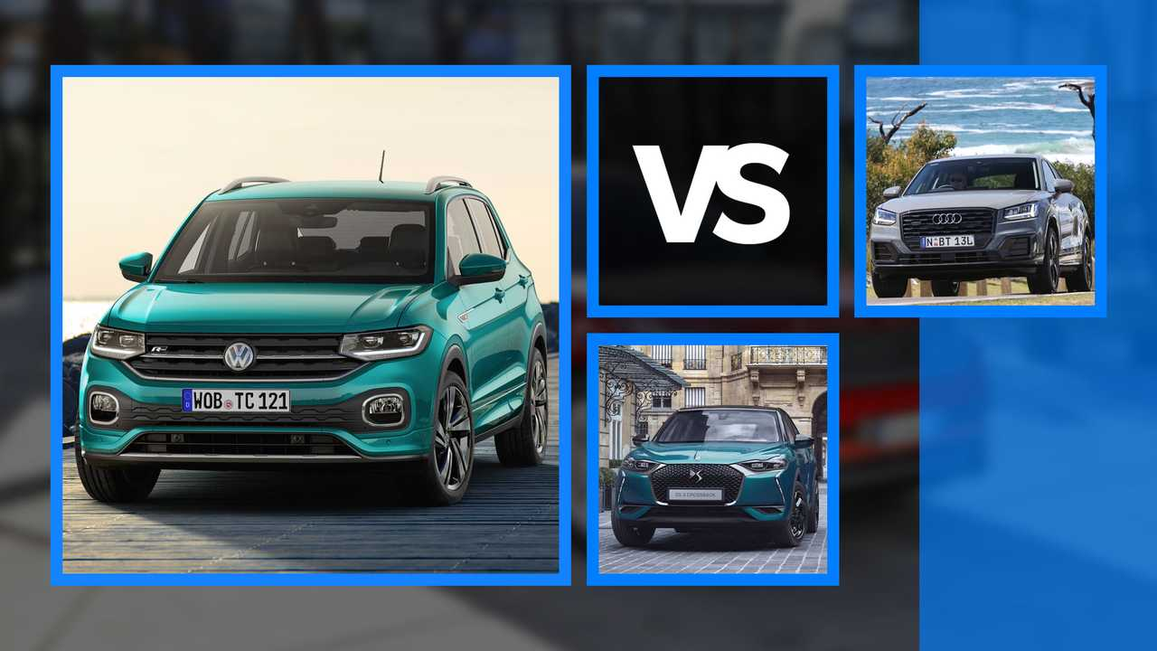 Copertina 2 Volkswagen T-Cross vs DS3 Crossback vs Audi Q2