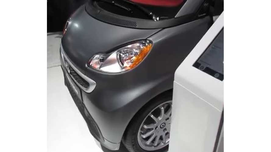 Video: Smart Fortwo Electric Drive Coupe + Cabriolet On Display