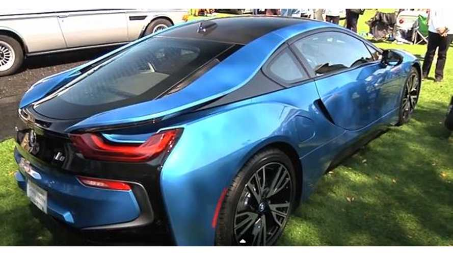 BMW i8 at Amelia Concours - Video