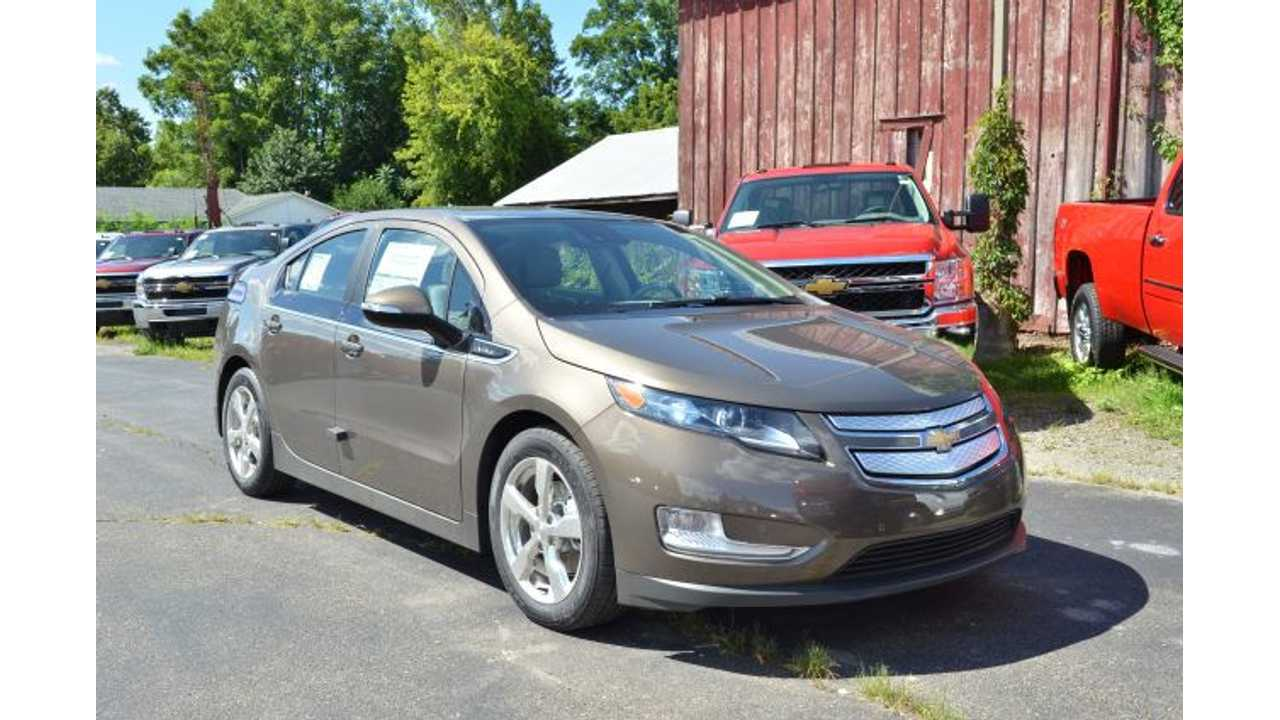 Used Chevrolet Volts And Nissan LEAFs Lead Industry In Price Drops For January