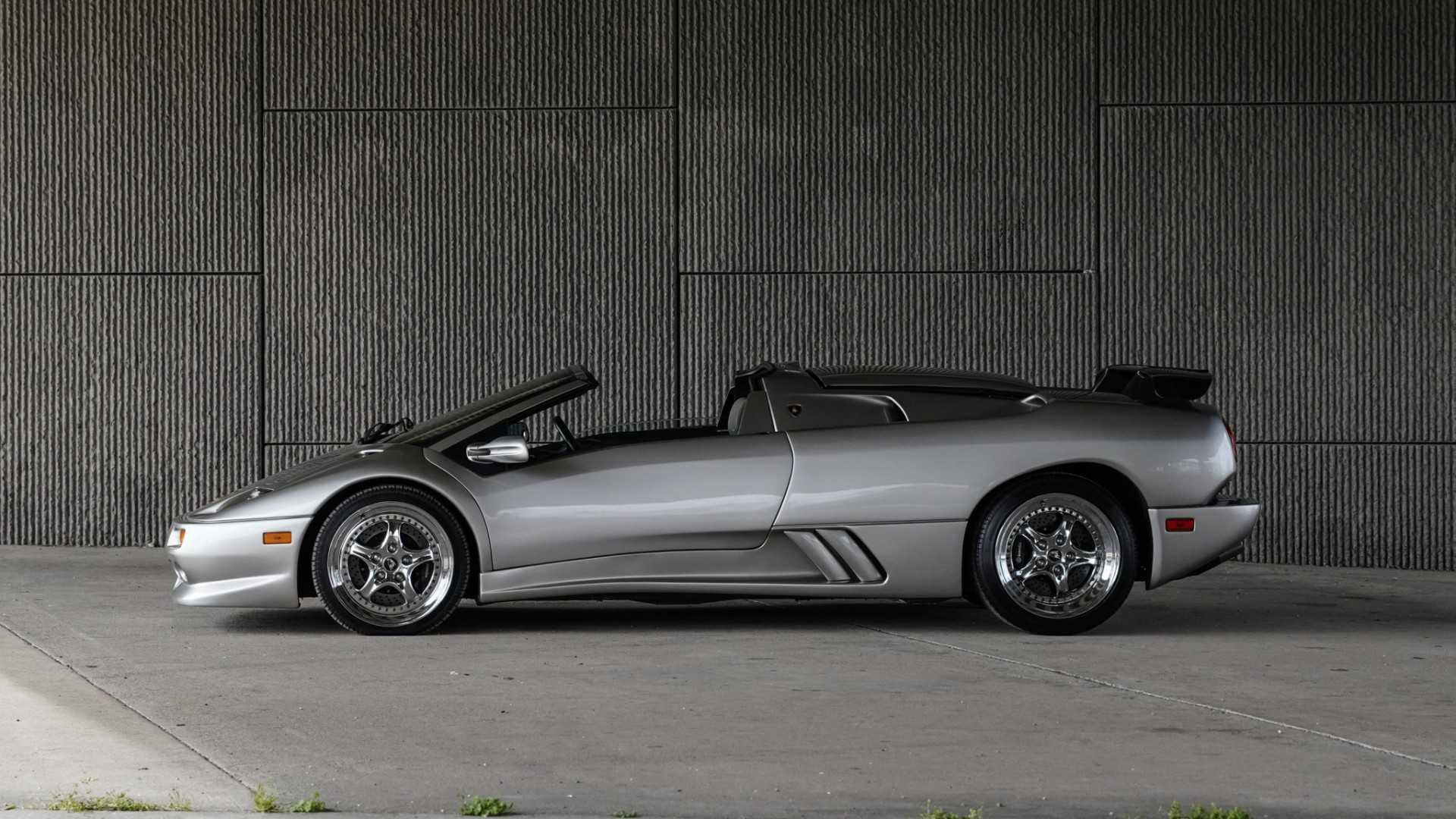 Party Like It S 1999 With This Lamborghini Millennium Roadster