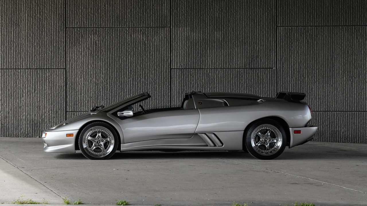 Lamborghini Diablo VT Millennium Roadster Bring a Trailer