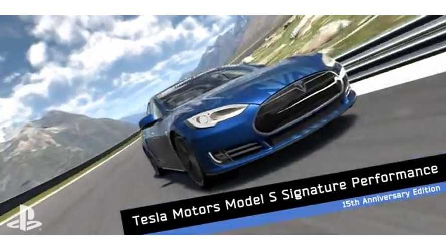 Tesla Model S Takes Center Stage in Gran Turismo 6 (w/video)