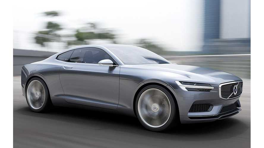 Volvo Concept Coupe Plug-In Hybrid Oozes Style; Performs Like a Beast (w/videos)
