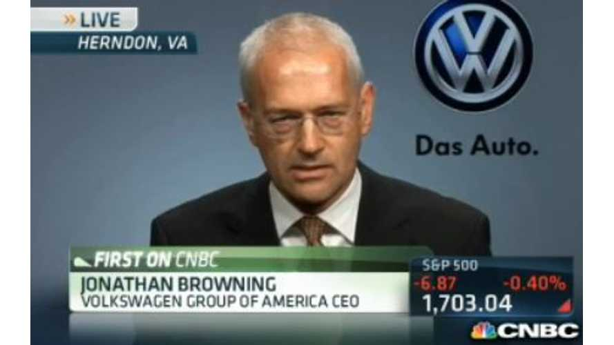 Video: Volkswagen US CEO Discusses Electric Vehicles