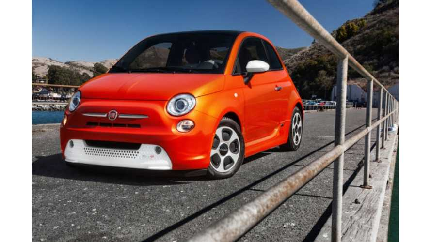Fiat 500e Purchasers Get 12 Days Of Free Rentals A Year.  EV To Be Priced April 13th, On Sale This Summer
