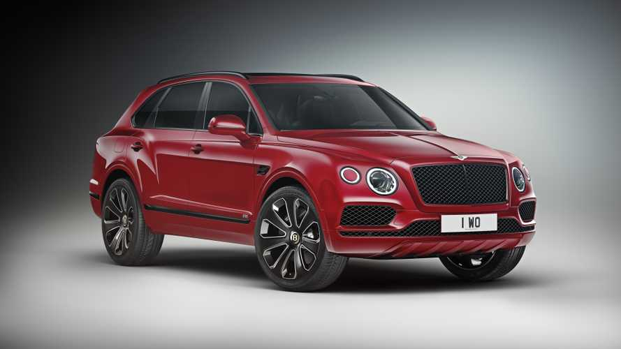 Bentley Bentayga gets more visual bite with contrasting colours