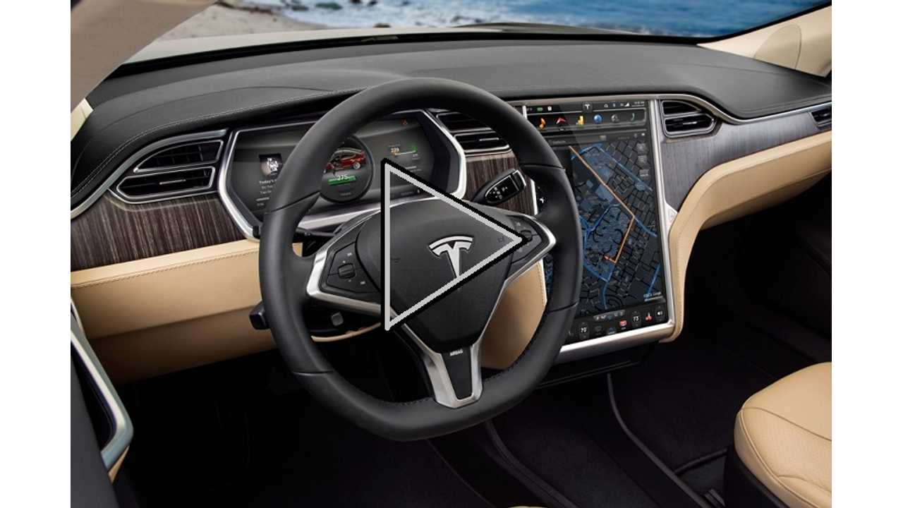 Video:  Tesla Model S Will Play Any Song You Want - Handsfree