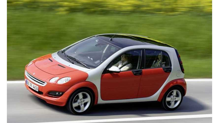 Confirmed: Electric Smart ForFour to Launch in 2015
