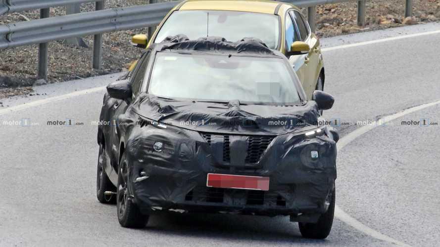 Nissan Juke 2020 neue Erlkönigbilder