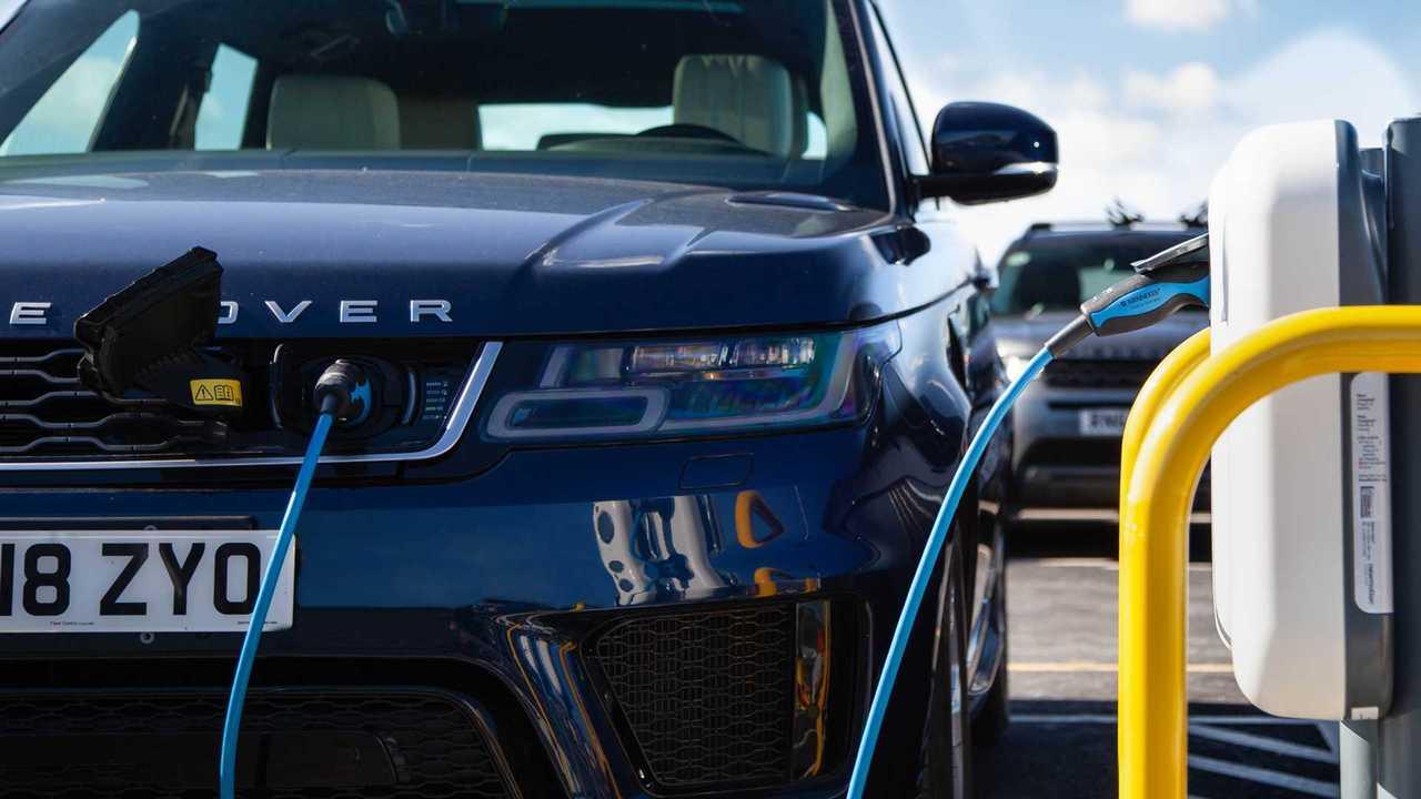 Jaguar Land Rover şarj tesisi