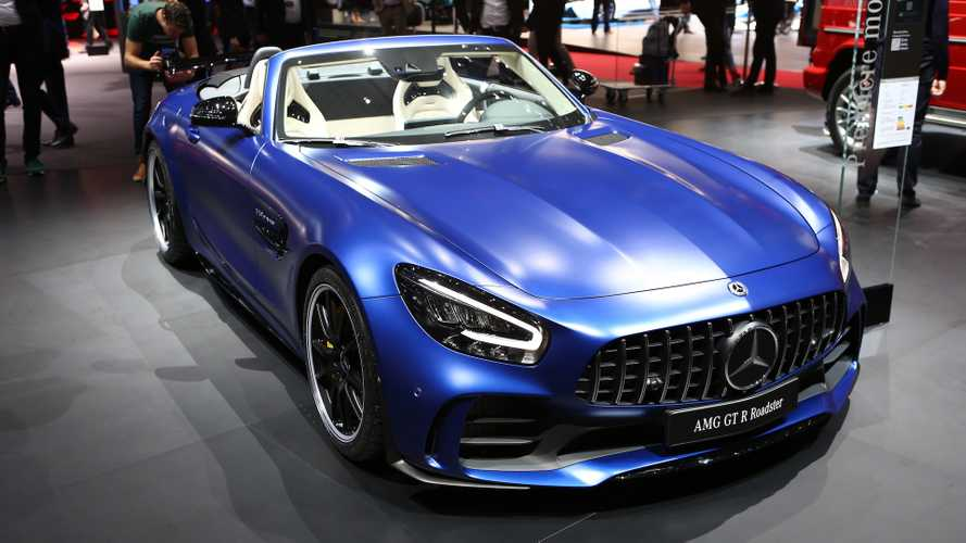 2d6e921a58c802 Geneva Motor Show Mercedes-AMG GT R Roadster Drops Its Top In Geneva