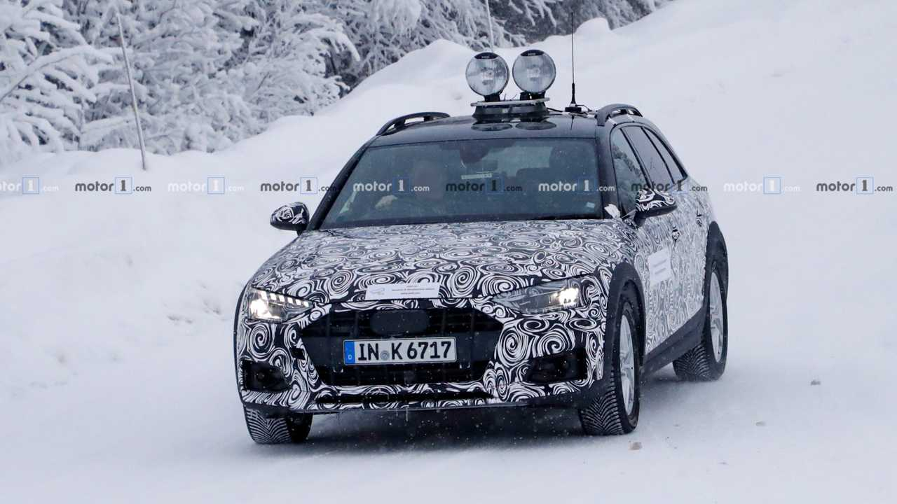 2020 Audi A4 Allroad Spy Photo