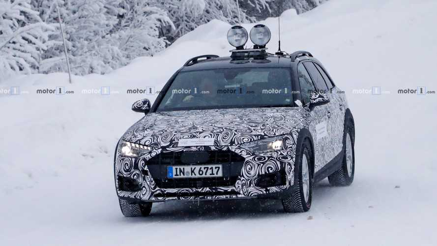2020 Audi A4 Allroad Spy Photos