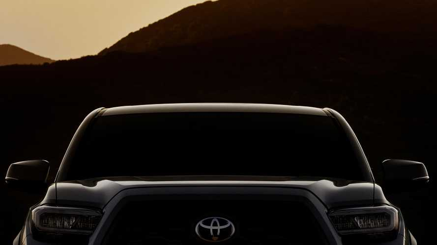 2020 Toyota Tacoma Teased With New Lights, Power Seat