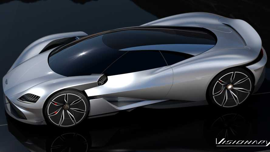Aston Martin Vesper and Visionary Concepts are pure eye candy