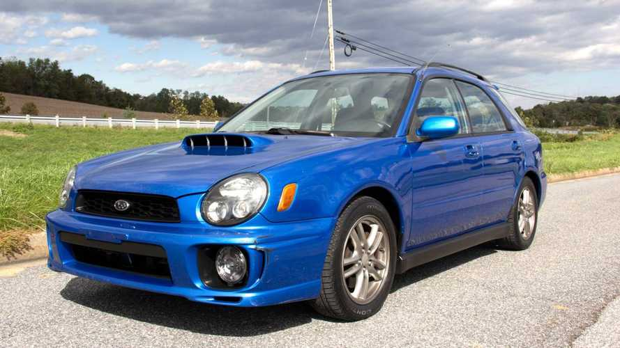 High-Mileage Subaru WRX Still Worth $7,500 Because Wagon