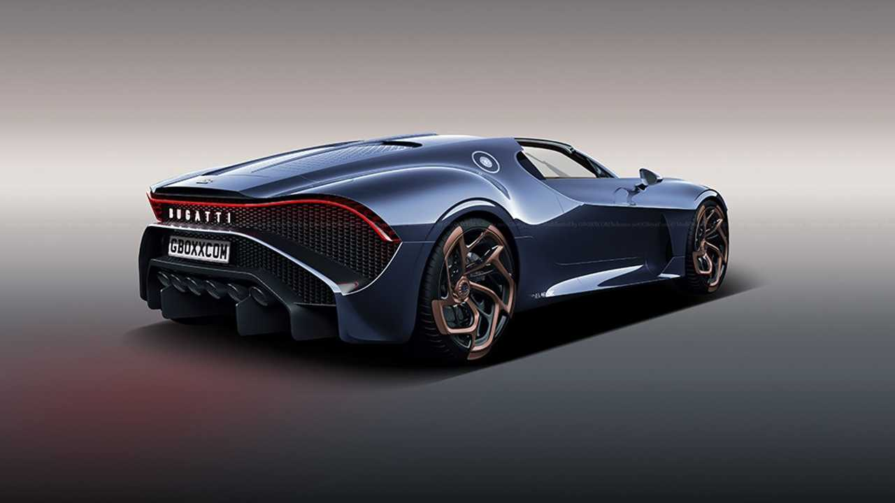 Just One Bugatti La Voiture Noire Exists And It S Priced: Bugatti La Voiture Noire Roadster Rendering Is Simply