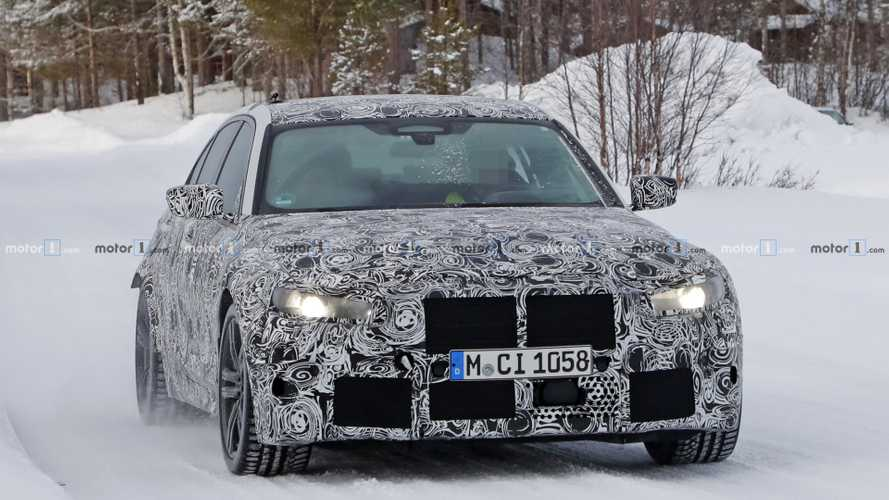 2020 BMW M3 new spy photos