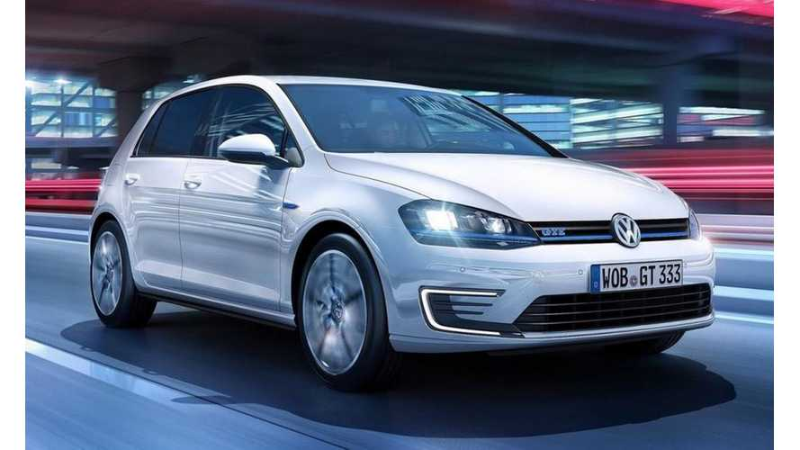 Volkswagen Golf GTE Gets Revealed