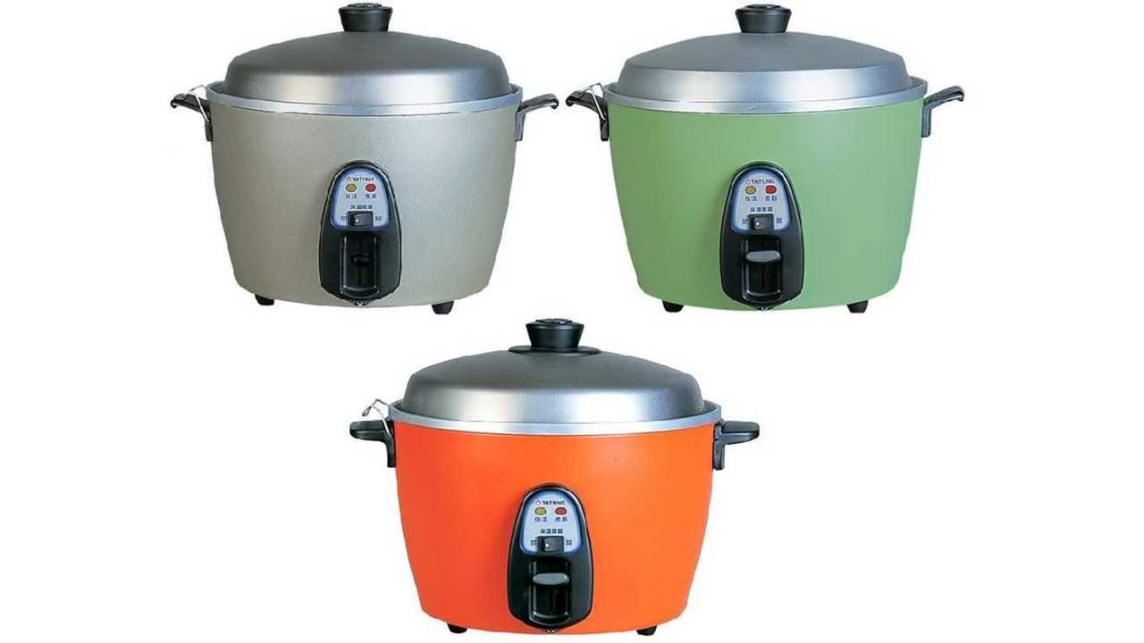 Tatung's Selection of Rice Cookers