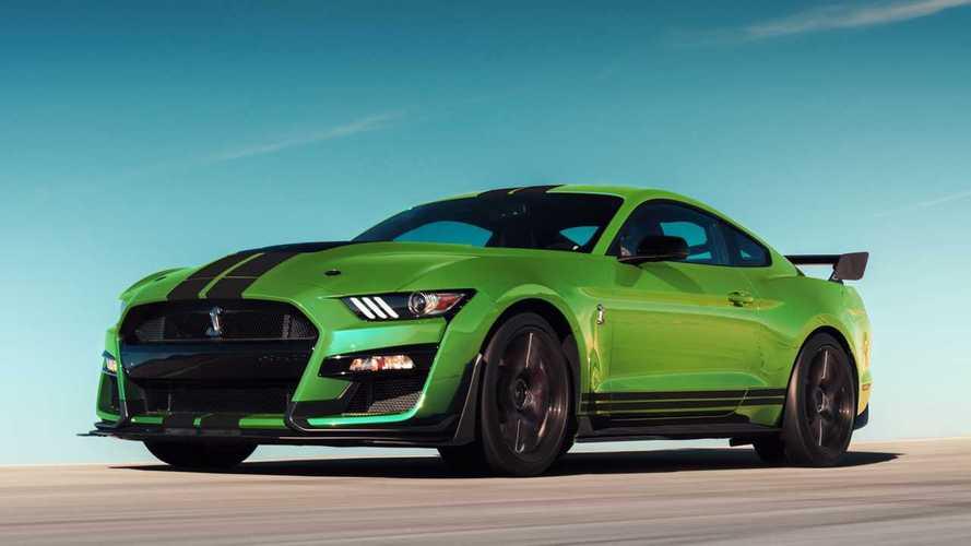 Une nouvelle couleur acidulée pour la Ford Mustang Shelby GT500