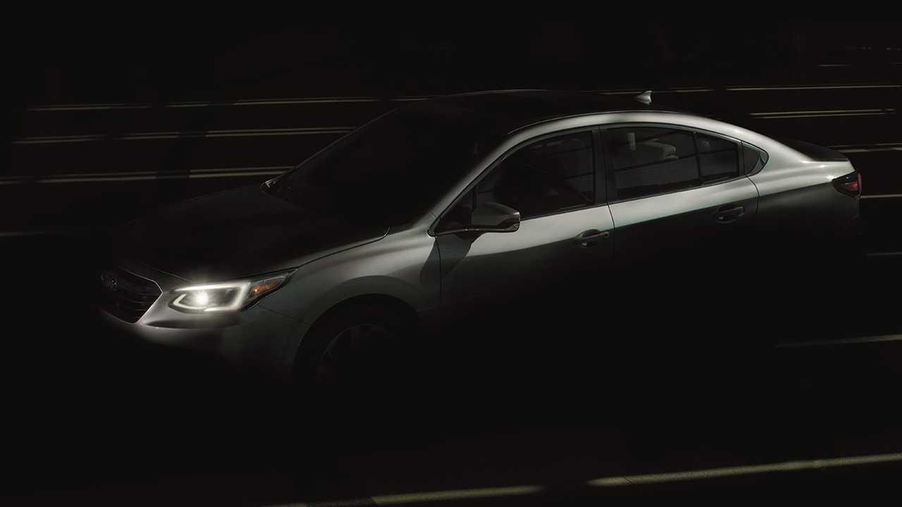 Subaru Legacy Exterior Teaser