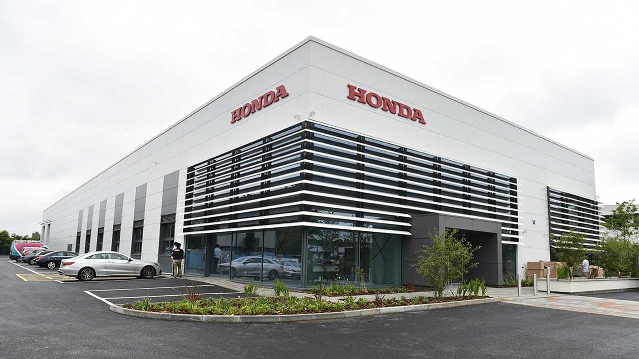 Honda Racing F1 headquarters in Milton Keynes UK