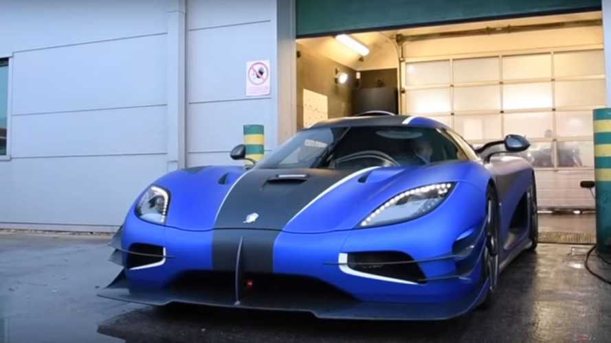 Koenigsegg One:1 Getting Paint Protection Is A Must-See
