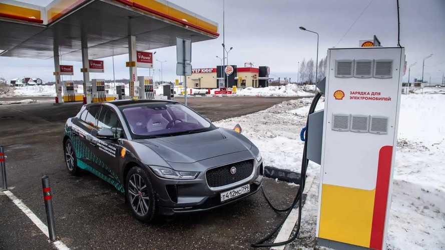 Jaguar I-Pace: зимнее путешествие в России