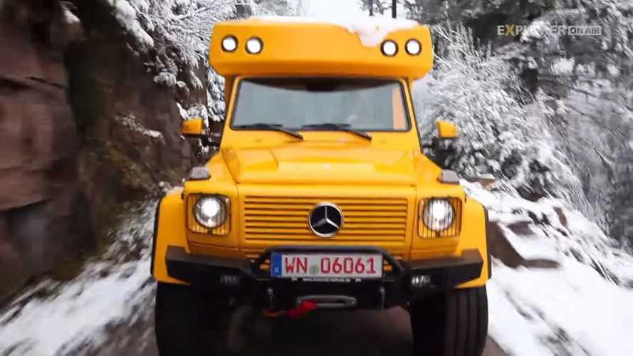 Mercedes-Benz Clase G camper de Orangework