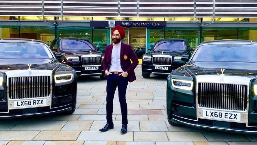 Este millonario compra seis Rolls-Royce para aumentar su colección
