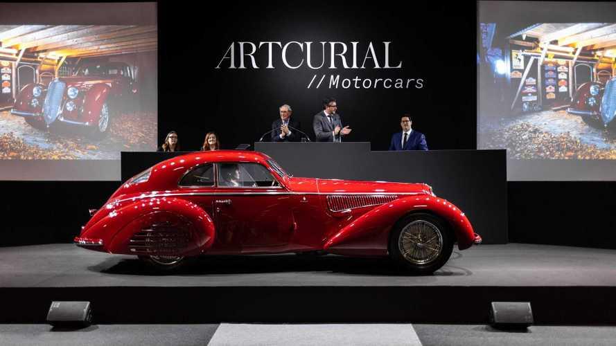 Alfa Romeo 8C 2900, opera d'arte da 16,7 millioni di euro