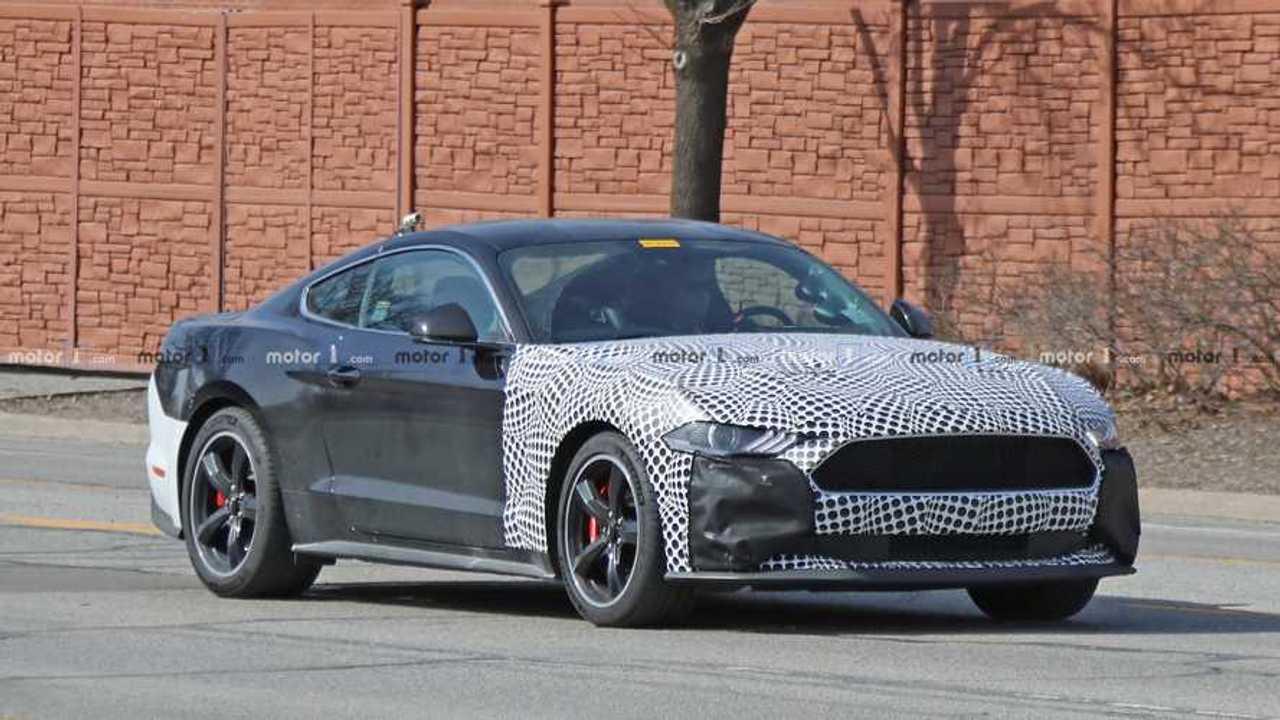 Ford Mustang Bullitt Test Vehicle Spy Photo