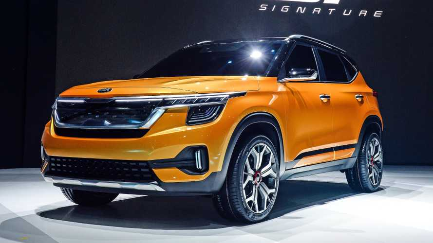 Kia Signature Concept hints at new global compact SUV