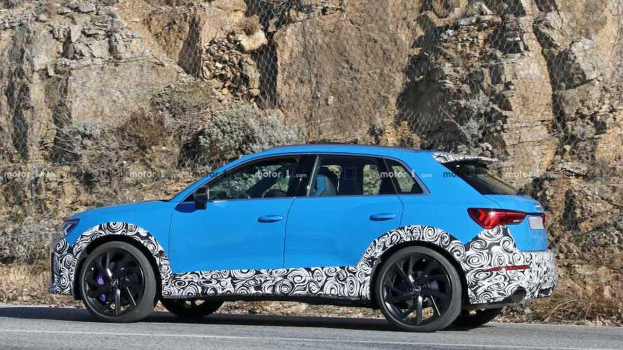 Photo espion Audi RS Q3
