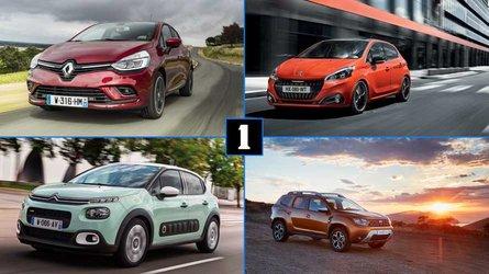 DIAPORAMA - Les dix voitures les plus vendues en France en 2018
