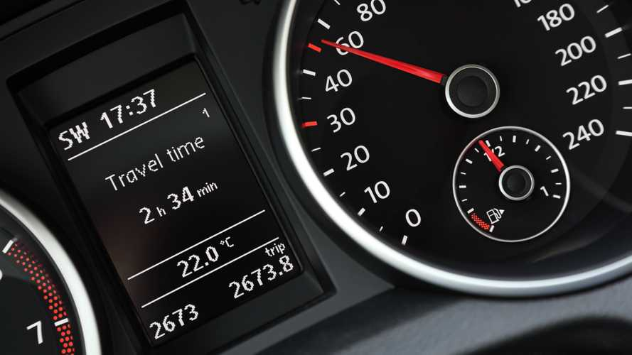 VW Group computer active info display odometer speedometer