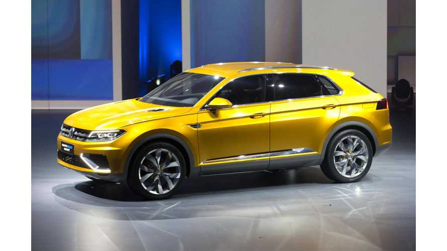 Volkswagen CrossBlue Plug-In Hybrid Concept Gets US Debut at LA Motor Show