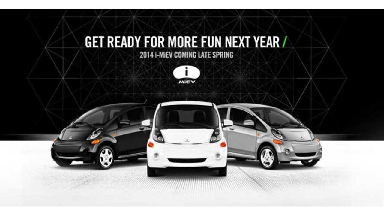 2014 Mitsubishi i-MiEV Returns to US In